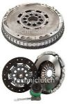 LUK DUAL MASS FLYWHEEL DMF & COMPLETE CLUTCH KIT W/ CSC VOLVO V40 2.0 T